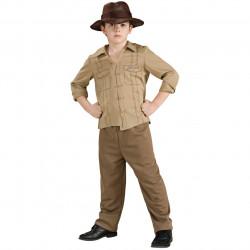 Fantasia Infantil Masculina Indiana Jones