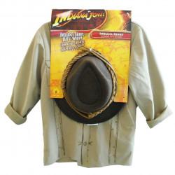 Fantasia Infantil Masculina Indiana Jones Kit