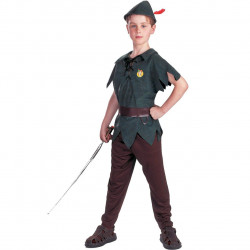 Fantasia Infantil Peter Pan Luxo
