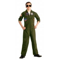Fantasia Infantil Piloto da Força Aérea Americana Top Gun