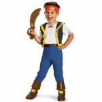 Fantasia Infantil Pirata Jake Luxo da Terra do Nunca