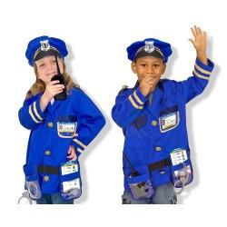 Fantasia Infantil Policial Little one
