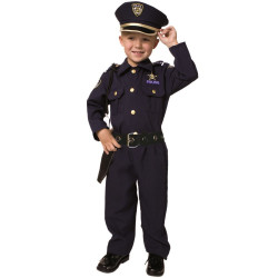 Fantasia Infantil Policial Luxo