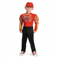 Fantasia Infantil Relâmpago McQueen com Músculos