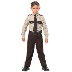 Fantasia Infantil Sheriff Policial Luxo