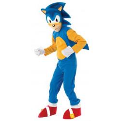 Fantasia Infantil Sonic the Hedgehog Luxo Clássica