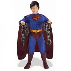 Fantasia Infantil Super Homem Luxo Superman
