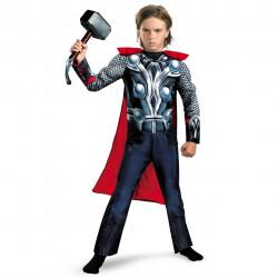 Fantasia Infantil Thor com Músculos Os Vingadores Luxo