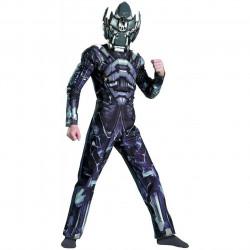 Fantasia Infantil Transformers Iron Hide Megatron
