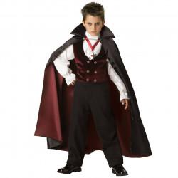 Fantasia Infantil Vampiro Gótico Elite