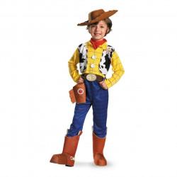 Fantasia Infantil Woody Cowboy Luxo Toy Story