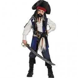 Fantasia Jack Sparrow Piratas do Caribe Infantil
