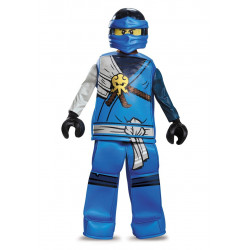 Fantasia Jay Ninjago Lego Luxo Infantil