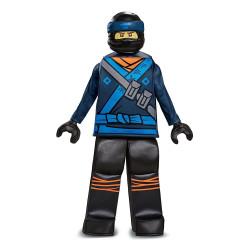 Fantasia Jay Ninjago Lego Luxo Infantil Filme