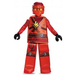 Fantasia Kai Ninjago Lego Luxo Infantil