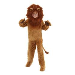 Fantasia leão infantil Luxo