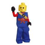 Fantasia Lego Adolescente Azul Luxo