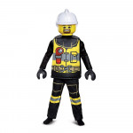 Fantasia Lego Bombeiro Clássico