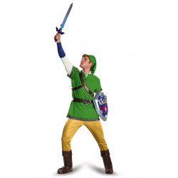 Fantasia Link Legend of Zelda Adulto Luxo