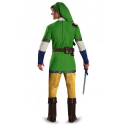 Fantasia Link Legend of Zelda Adulto Luxo