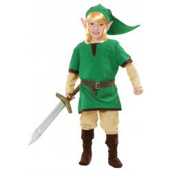 Fantasia Link Legend of Zelda Infantil Clássica
