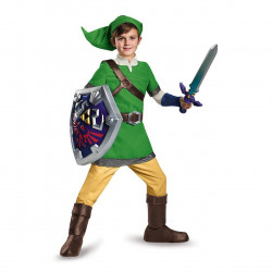 Fantasia Link Legend of Zelda Infantil Luxo