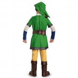 Fantasia Link Legend of Zelda Infantil Luxo