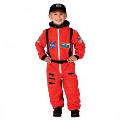 Fantasia Macacão de Astronauta Infantil Laranja