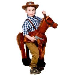 Fantasia Montar Cavalo Cowboy Infantil