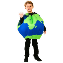 Fantasia Mundo Terra Inflável Infantil