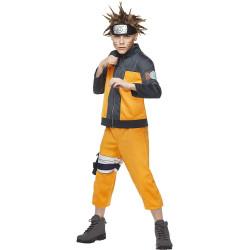 Fantasia Naruto Anime Uzumaki Infantil Luxo