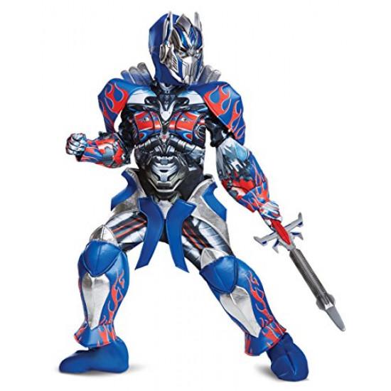 Fantasia Optimus Prime Transformers Prestige Infantil