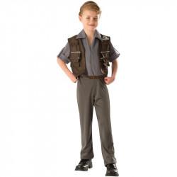 Fantasia Owen Jurassic Park O Mundo dos Dinossauros Infantil