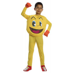 Fantasia PacMan Pac Man Luxo Infantil