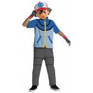 Fantasia Pokemon Ash Ketchum Infantil Clássica