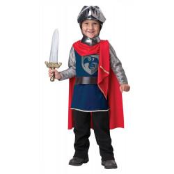 Fantasia Príncipe Guerreiro Medieval Infantil Clássica