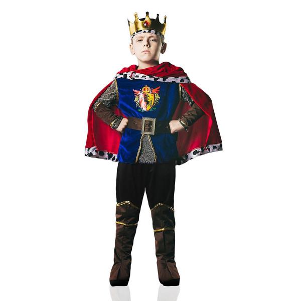 Fantasia Príncipe Guerreiro Medieval Luxo Infantil