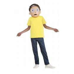 Fantasia Rick e Morty Morty Infantil Luxo