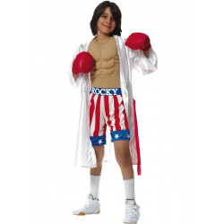 Fantasia Rocky Balboa Sylvester Stallone Boxer Infantil