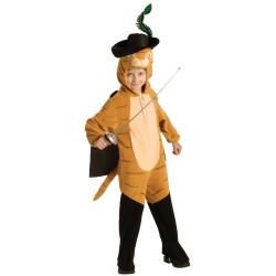 Fantasia Shrek Infantil Gato de Botas Luxo