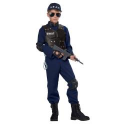 Fantasia SWAT Infantil Luxo