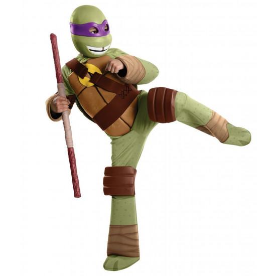 Fantasia Tartarugas Ninja Infantil Luxo Donatelo com Músculos