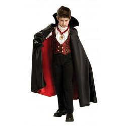 Fantasia Vampiro Transilvania Infantil Luxo