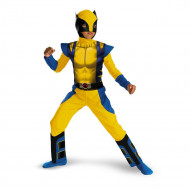 Fantasia X Men Wolverine Infantil Clássica