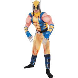 Fantasia X Men Wolverine Infantil Luxo Clássica