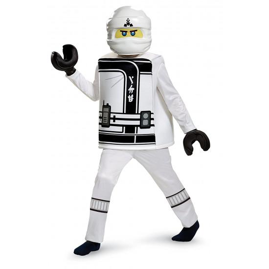 Fantasia Zane Ninjago Lego Infantil Filme