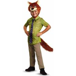 Fantasia Zootopia Nick Wilde Disney Infantil