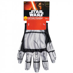 Luvas Phasma Star Wars Luxo Infantil Despertar da Força