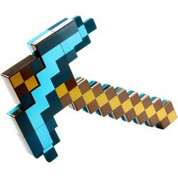Machado e Espada Minecraft Dourado