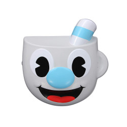Máscara Cuphead Mugman Infantil Azul